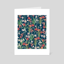 Blossom Botanical - Art Card by 83 Oranges