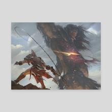 Mortal Obstinacy - Canvas by Slawomir Maniak