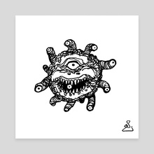 A Beholder  - Canvas by Shelby Ulibarri