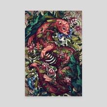 Momento Mori - Canvas by Kate O'Hara