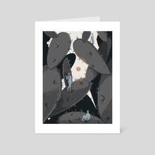 Spines - Art Card by Reno Nogaj