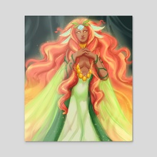 Melora's Blessing - Acrylic by Mary Day