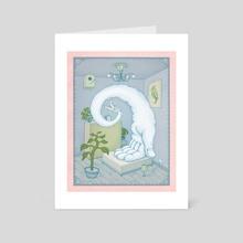 The Sleepwalk - Art Card by Benedikt Notter