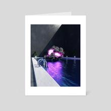 Cloud 9 - Art Card by Roland Krizan