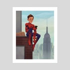 Spider-Man - Art Print by Alyssa Tallent