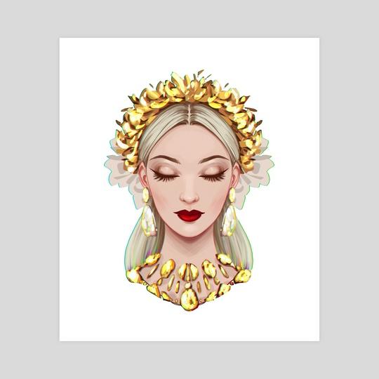 Golden Queen by Dzydar