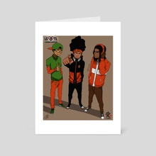 LSFTL - Danny, Clifton and Maino - Art Card by Felix Junior Charles
