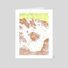 Float - Art Card by h babett