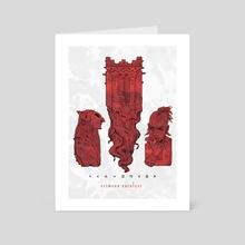 Crimson Catalyst (III) - Art Card by Shardstone