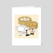 Dim Sum - Art Card by Gourmet Galleria