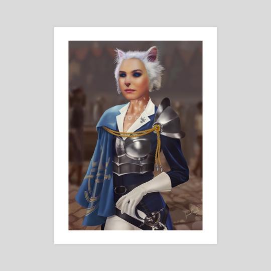 Lady Elnorah by Facundo Alberto Morello