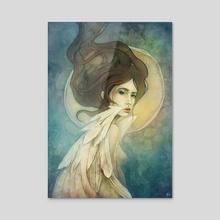 Angelic - Acrylic by Sylvia  Strijk