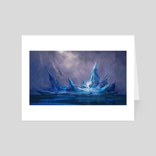 Glacier - Art Card by Gavin O'Donnell
