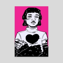 Mika  - Canvas by Daisy May Taylor