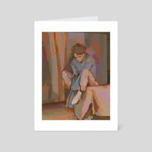Same Two Songs - Art Card by Ellie Hsu