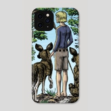 On the Edge - Phone Case by Dean Vigyikan