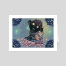Moon Dreamer I - Art Card by Anaïs Marmonier