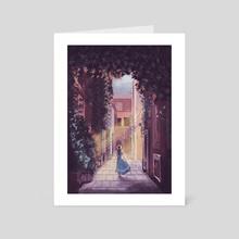 Journey - Art Card by Diya Sengupta