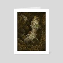 Amoeba - Art Card by Katelyn Solbakk