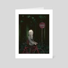 Following - Art Card by Zach Montoya