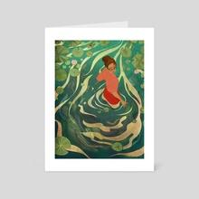 Uncharted - Art Card by Brenna Lindblad Han