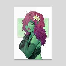 Flower Queen - Acrylic by gianita
