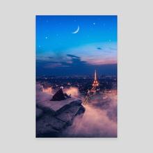 Paris - Canvas by Jared Sandoval
