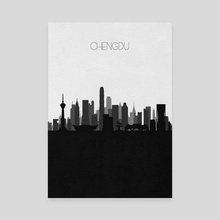 Chengdu - Canvas by Deniz Akerman