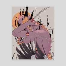 Heaven melting - Canvas by aye pixel