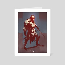 Crusader  - Art Card by Cosmin Podar