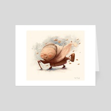 Grandma - Art Card by Pete Olczyk