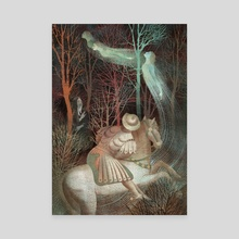 The Canterbury Tales Fairy - Canvas by Anna and Elena Balbusso Twins