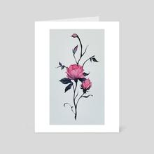 rose - Art Card by Lois van Baarle
