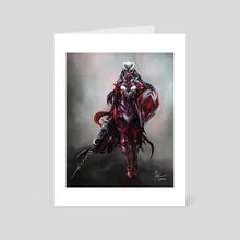 Celese - Battle Armor - Art Card by Temarius Walker