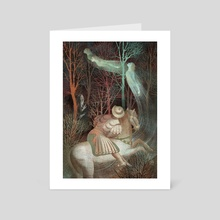 The Canterbury Tales Fairy - Art Card by Anna and Elena Balbusso Twins