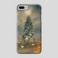 The last Christmas tree - Phone Case by Even Liu