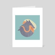 Cute Aggression  - Art Card by Jillian Stiles