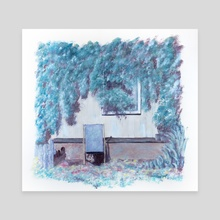 The deckchair - Canvas by Cécile Congost
