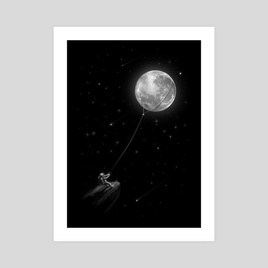 Pull Moon by Nicebleed