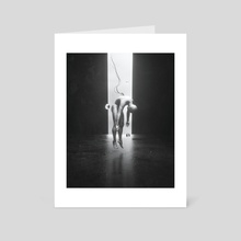 DIVIDED - Art Card by Mikko Raima