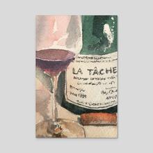 Fine wine 23 - Acrylic by Clemson Chan