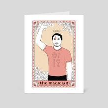 The Magician, Flipped - For Victor - Art Card by Sophie Danner