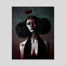 The Unforgettable Ms. Redtree - Canvas by Matthew Clonch