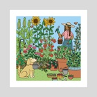 Summertime Harvest - Art Print by Mary Freelove