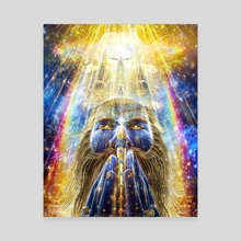 Blessed Visions - Canvas by Louis Dyer