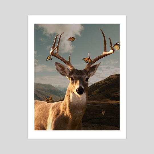 Deer No.1 by Kyrie Williams