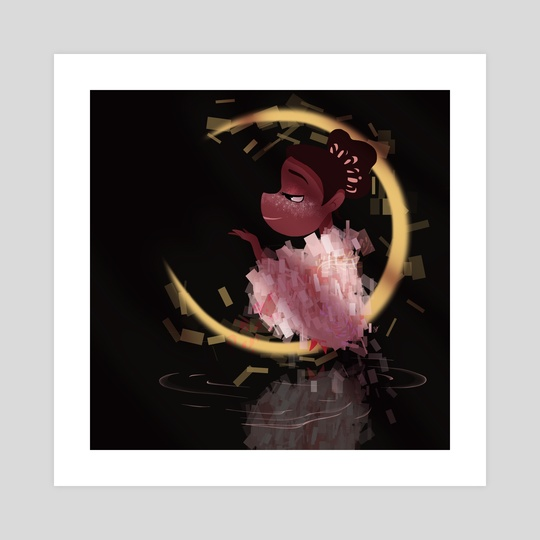 Moon Guardian Pink by Isida