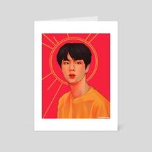 Jin Portrait - Art Card by ProTeaDrinker