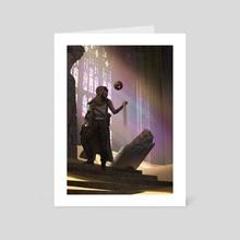 Dust - Art Card by Eric Felten