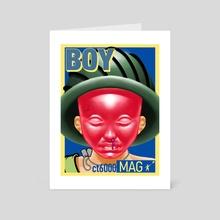 BOY MAG - Art Card by ct6000
